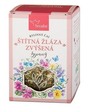 ŠTÍTNÁ ŽLÁZA - ZVÝŠENÁ FUNKCE bylinný čaj, štítná žláza, byliny, čaj, zvýšená funkce, hormonální systém