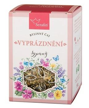 VYPRÁZDNĚNÍ sypaný čaj 50 g bylinný čaj, byliny, čaj, pravidelná stolice, vylučování, zažívání, trávení, střeva