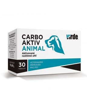 CARBO AKTIV ANIMAL - rostlinné uhlí 30 tob. rostlinné uhlí, pro psy, průjem,detoxikace