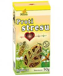 PROTI STRESU sypaný čaj 50g stres,nervový systém,uklidnění,spánek,relaxace,uvolnění